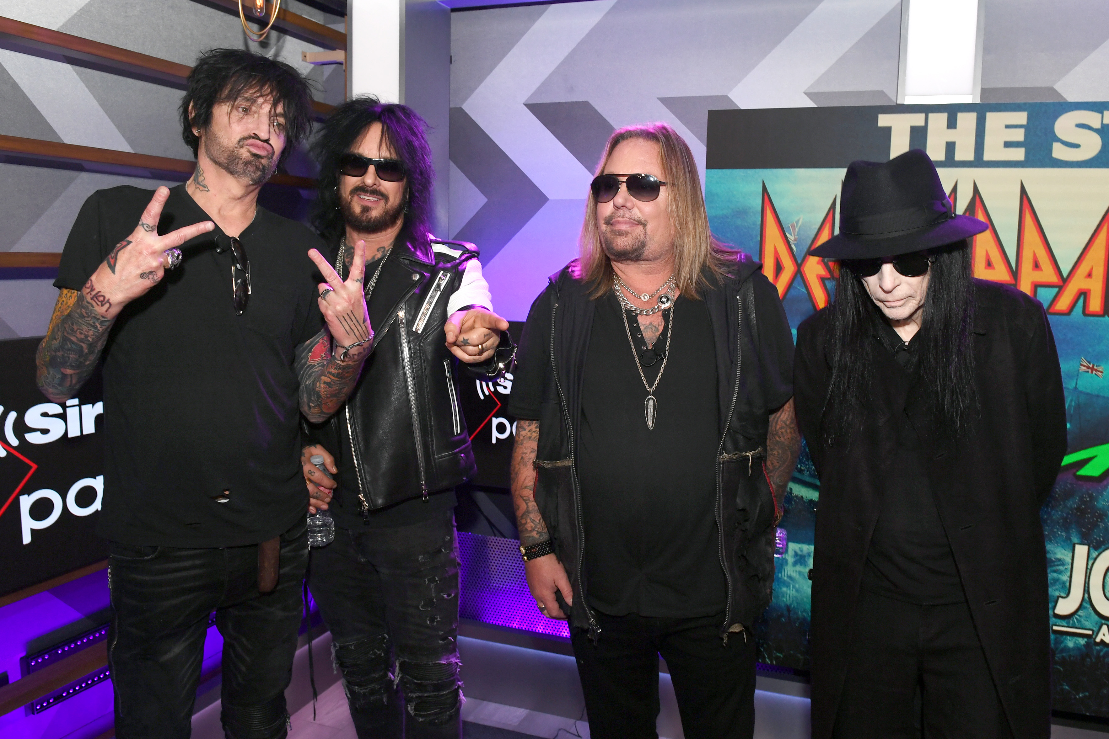 """Sixx and Tommy Lee formed Motley Crue in 1981. Shortly thereafter, the two came across Mick Mars' infamous """"Loud, rude and aggressive guitar player available"""" ad. The weird kismet moment, of course, was that Sixx and Mars met before in a liquor store where Sixx worked as a cashier. It's all in The Dirt. If you haven't read it yet, shame on you!"""