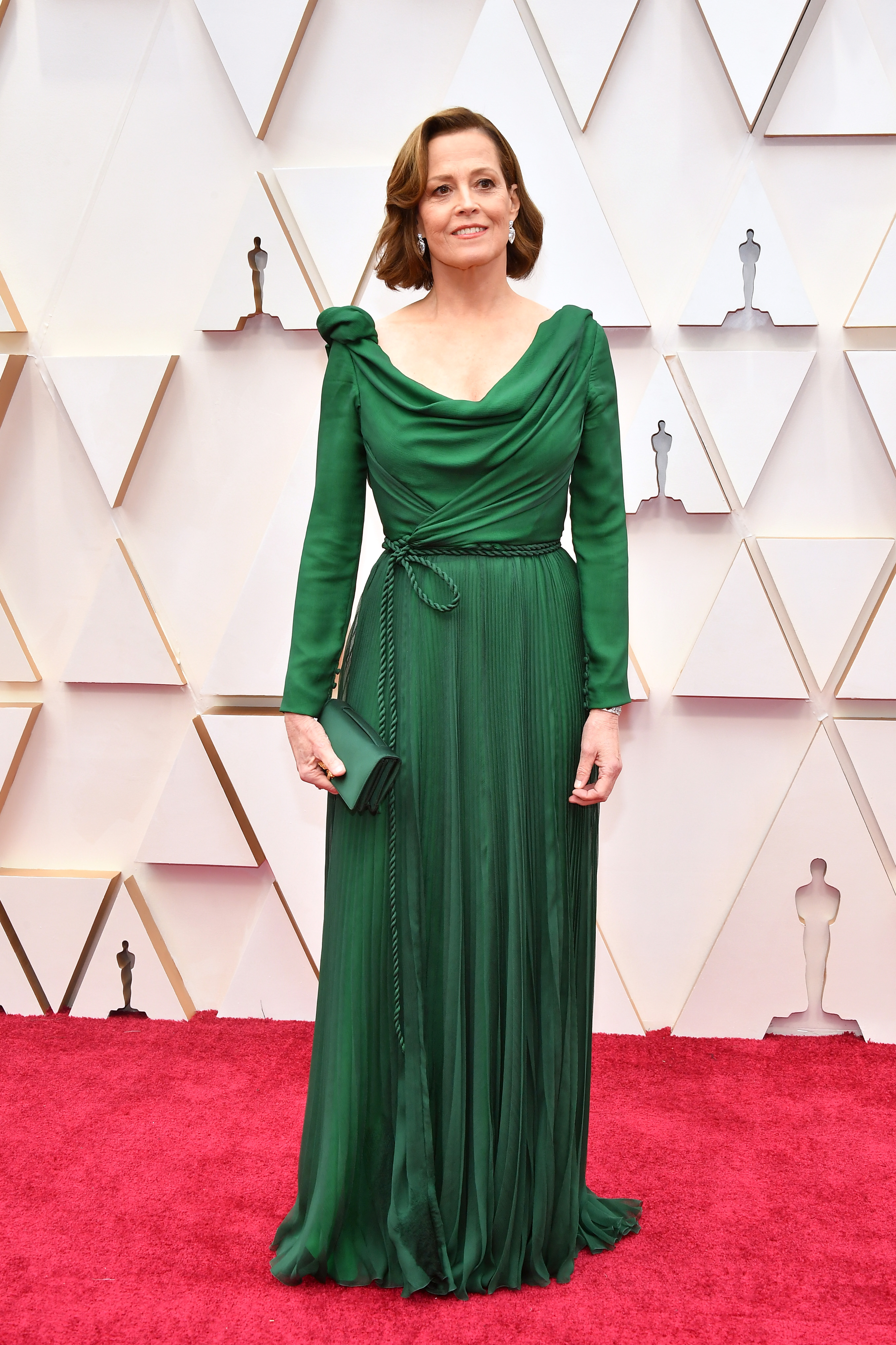 HOLLYWOOD, CALIFORNIA - FEBRUARY 09: Sigourney Weaver attends the 92nd Annual Academy Awards at Hollywood and Highland on February 09, 2020 in Hollywood, California. (Photo by Amy Sussman/Getty Images)