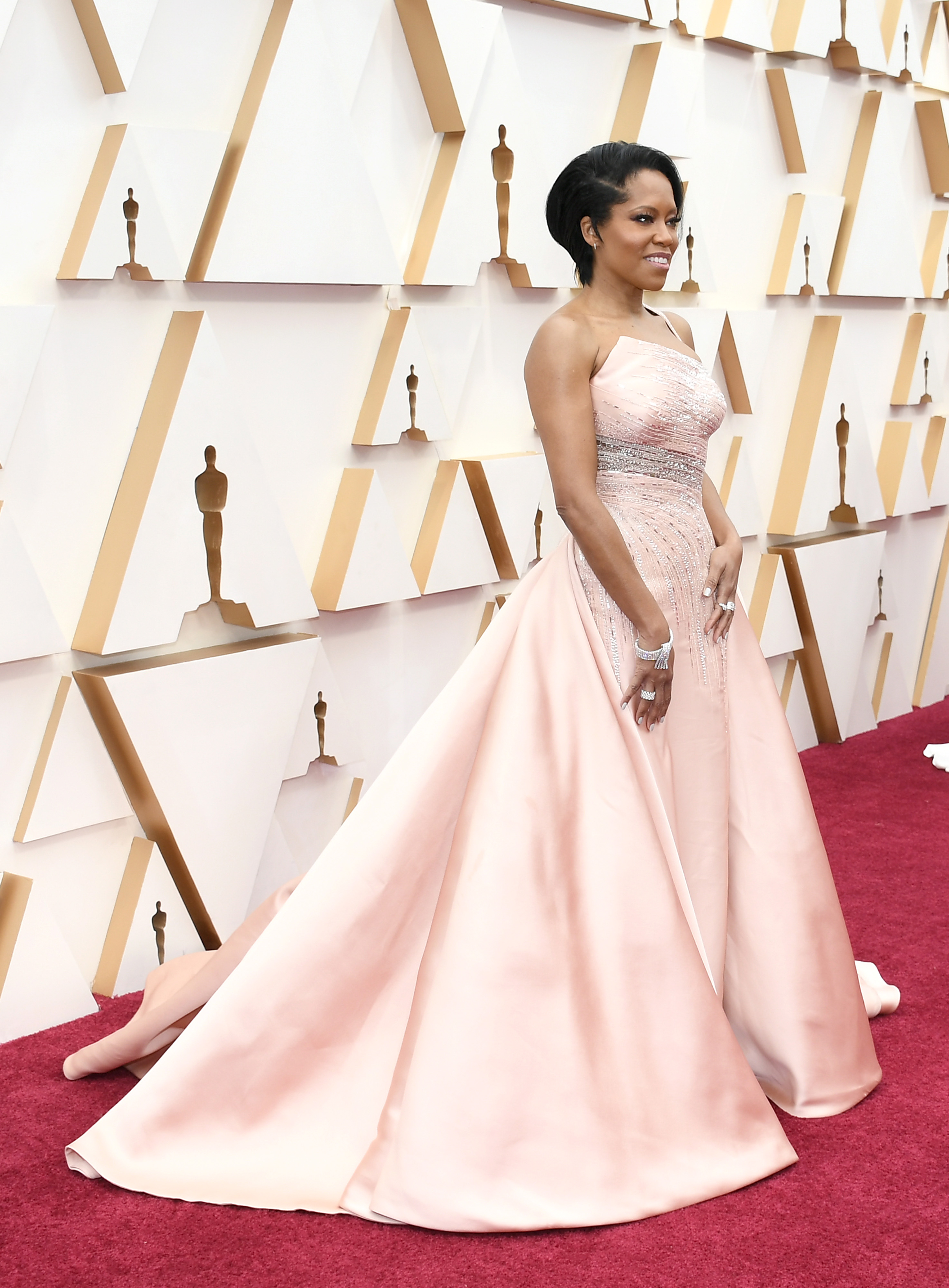 HOLLYWOOD, CALIFORNIA - FEBRUARY 09: Regina King attends the 92nd Annual Academy Awards at Hollywood and Highland on February 09, 2020 in Hollywood, California. (Photo by Kevork Djansezian/Getty Images)