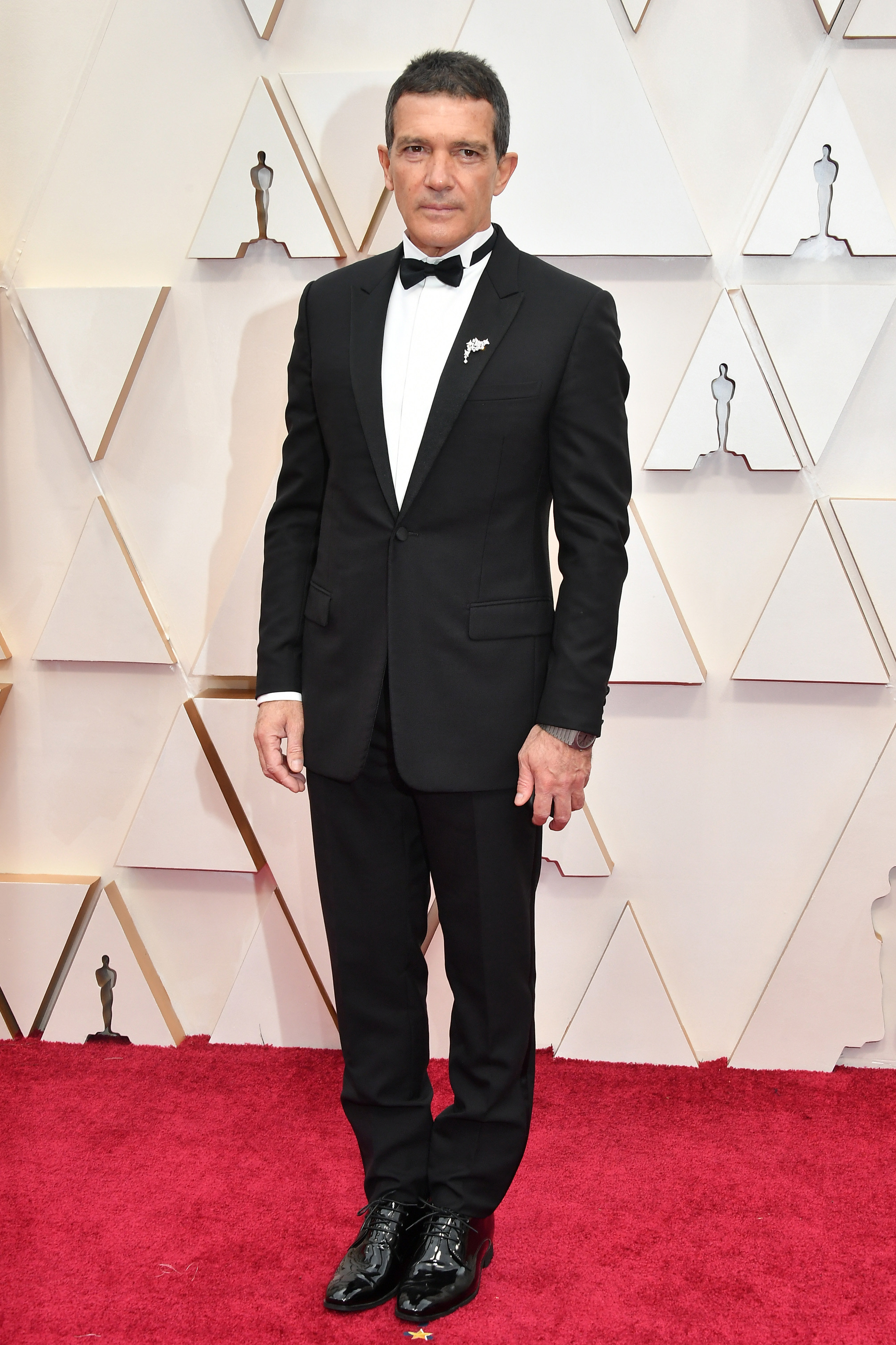 HOLLYWOOD, CALIFORNIA - FEBRUARY 09: Antonio Banderas attends the 92nd Annual Academy Awards at Hollywood and Highland on February 09, 2020 in Hollywood, California. (Photo by Amy Sussman/Getty Images)