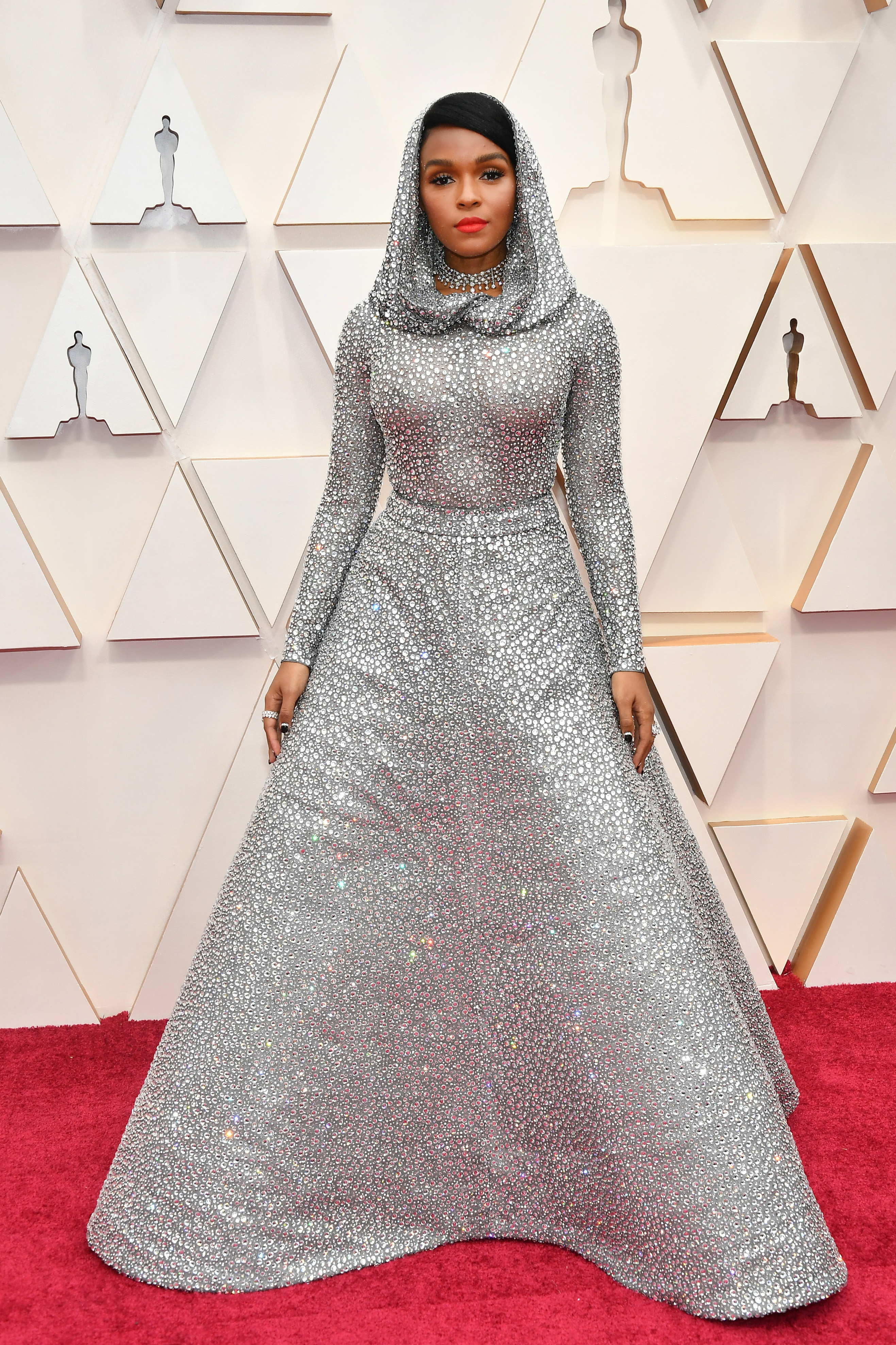 HOLLYWOOD, CALIFORNIA - FEBRUARY 09: Janelle Monáe attends the 92nd Annual Academy Awards at Hollywood and Highland on February 09, 2020 in Hollywood, California. (Photo by Amy Sussman/Getty Images)