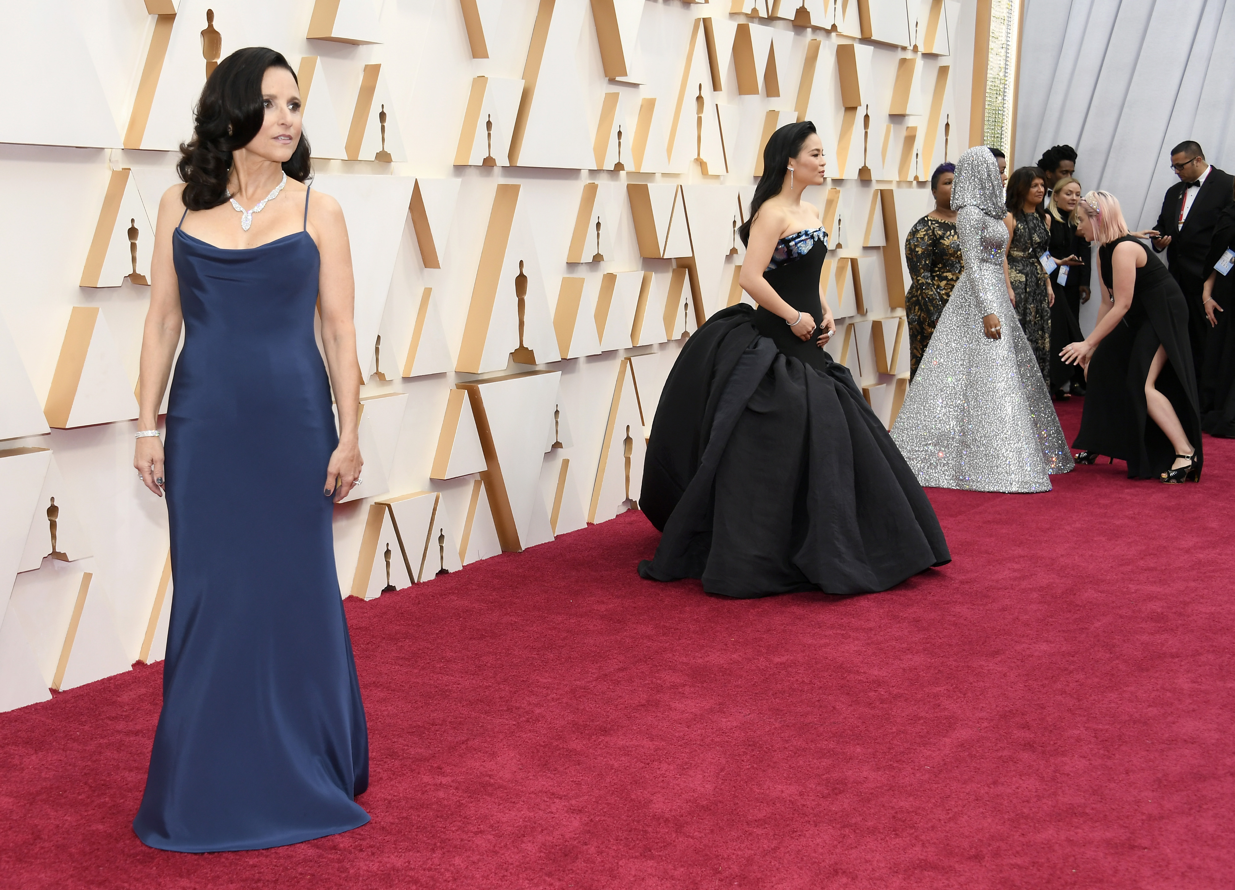 HOLLYWOOD, CALIFORNIA - FEBRUARY 09: Julia Louis-Dreyfus attends the 92nd Annual Academy Awards at Hollywood and Highland on February 09, 2020 in Hollywood, California. (Photo by Kevork Djansezian/Getty Images)