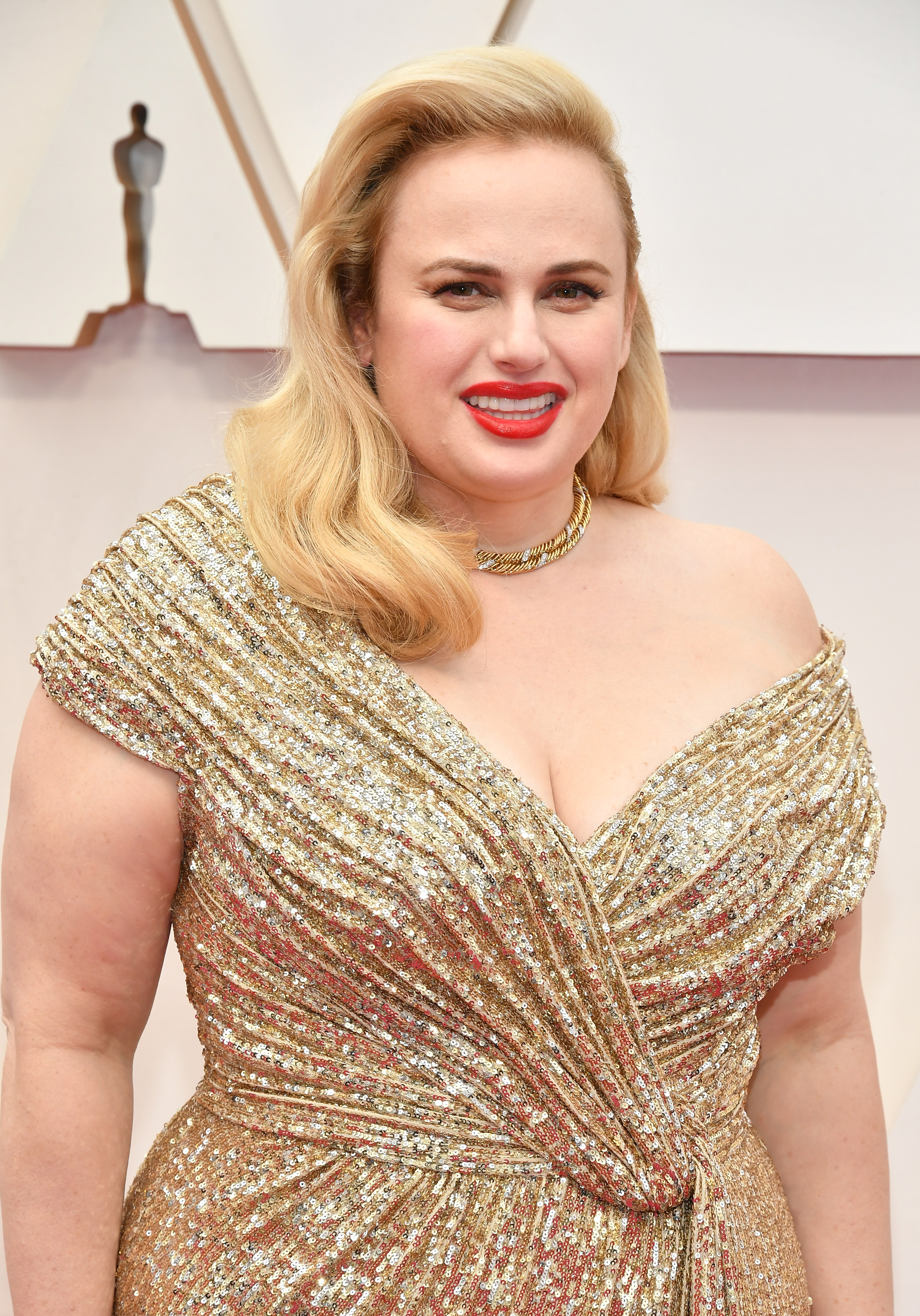 HOLLYWOOD, CALIFORNIA - FEBRUARY 09: Rebel Wilson attends the 92nd Annual Academy Awards at Hollywood and Highland on February 09, 2020 in Hollywood, California. (Photo by Amy Sussman/Getty Images)