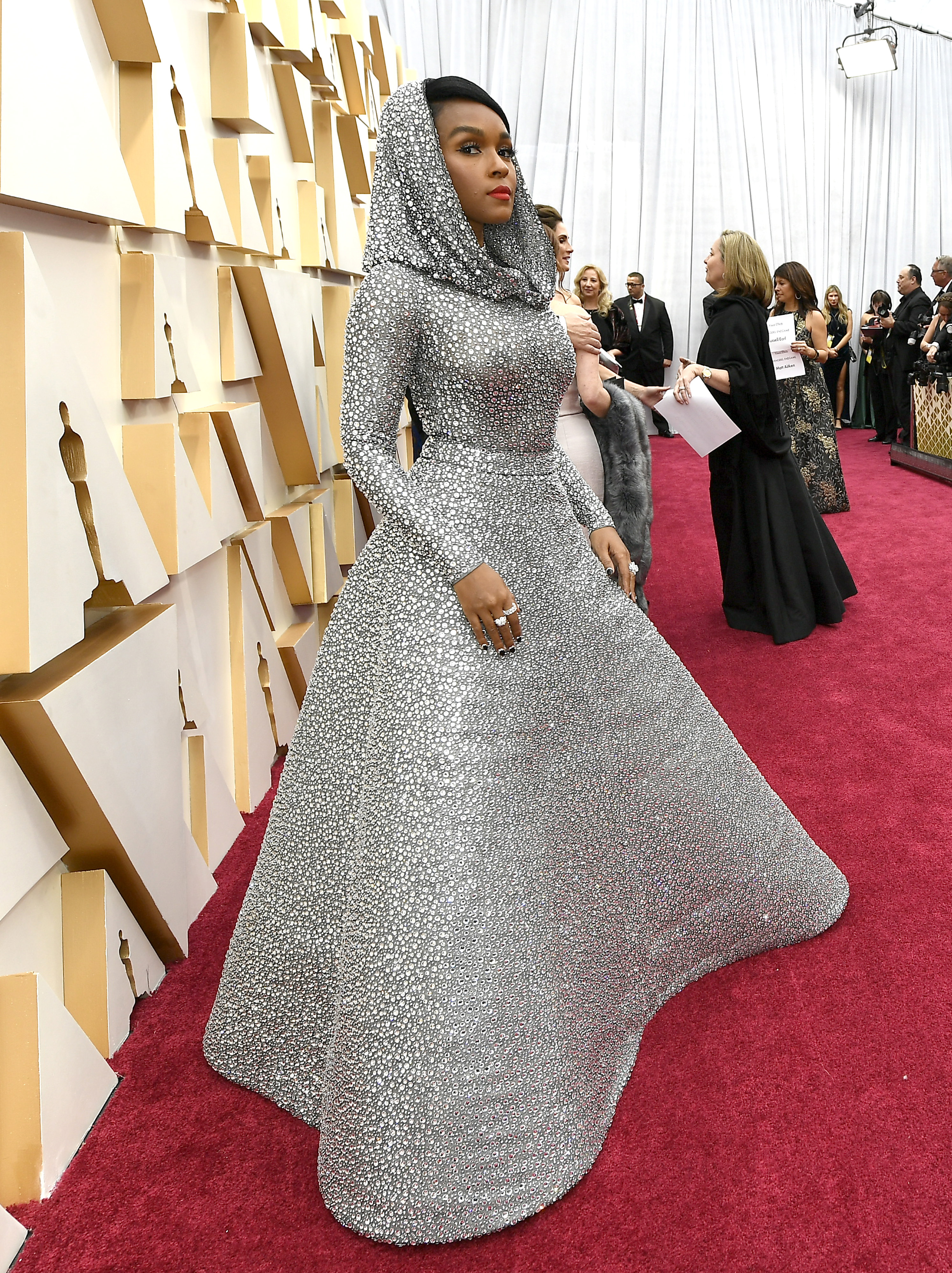 HOLLYWOOD, CALIFORNIA - FEBRUARY 09: Janelle Monáe attends the 92nd Annual Academy Awards at Hollywood and Highland on February 09, 2020 in Hollywood, California. (Photo by Kevork Djansezian/Getty Images)