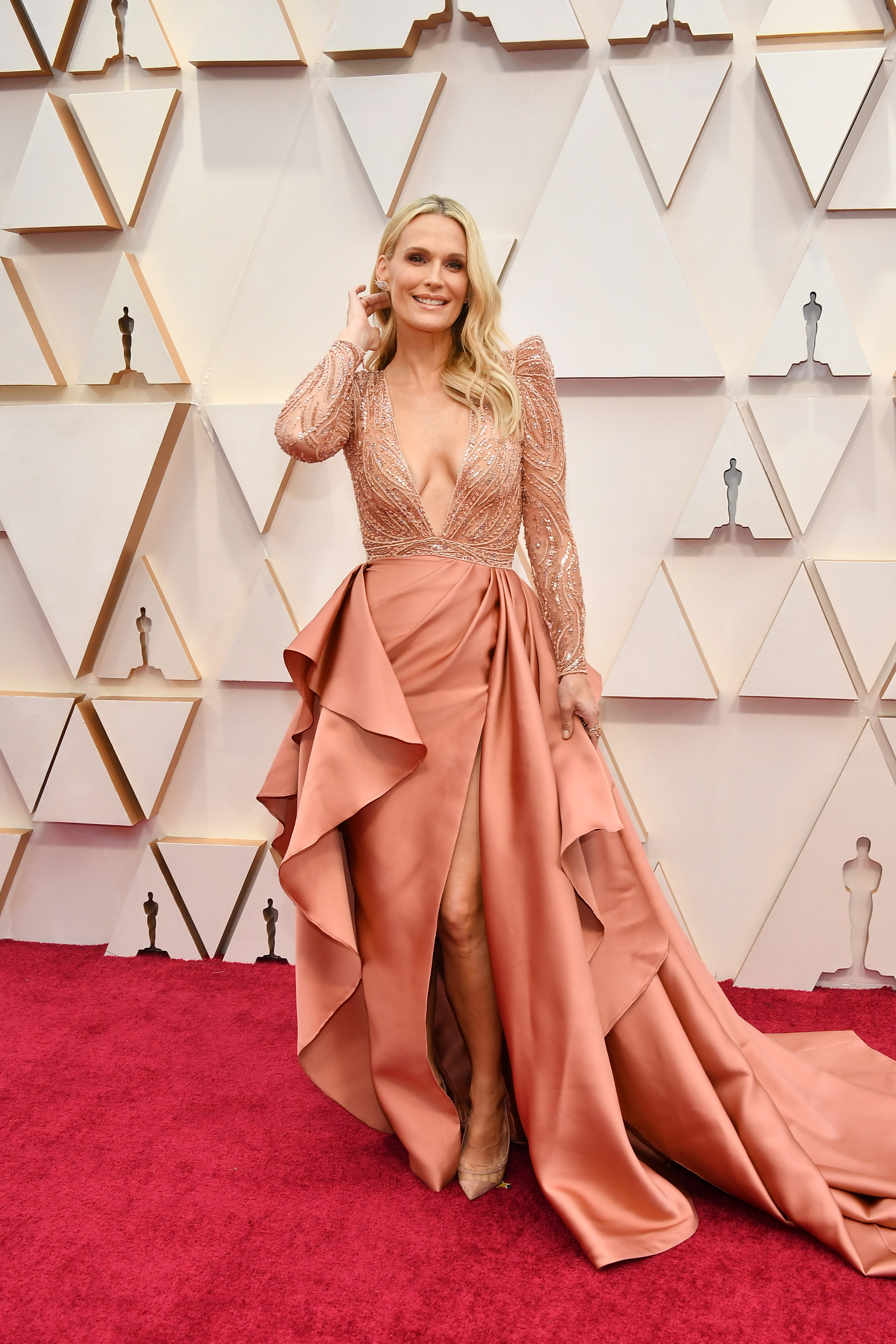 HOLLYWOOD, CALIFORNIA - FEBRUARY 09: Molly Sims attends the 92nd Annual Academy Awards at Hollywood and Highland on February 09, 2020 in Hollywood, California. (Photo by Amy Sussman/Getty Images)