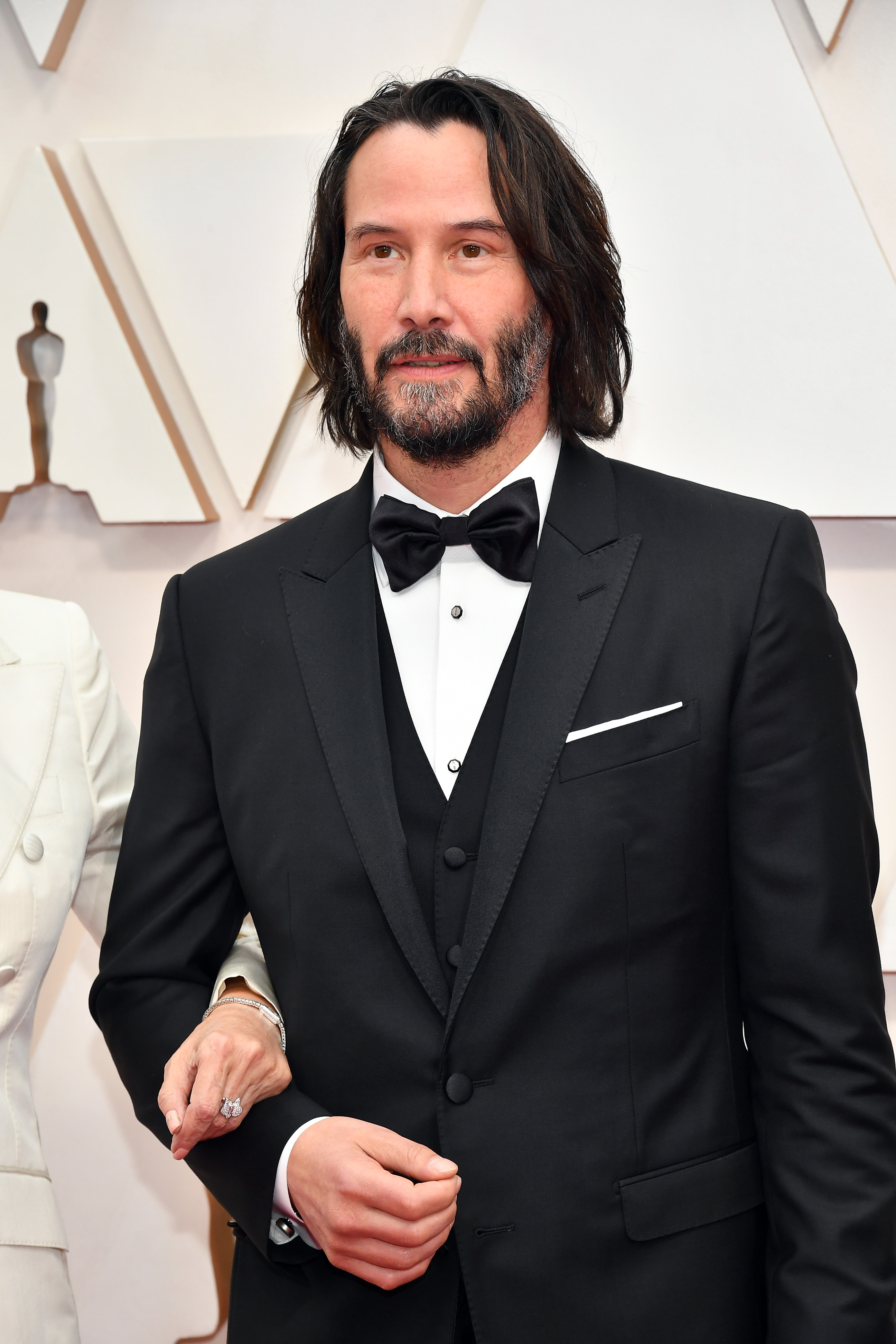 HOLLYWOOD, CALIFORNIA - FEBRUARY 09: Keanu Reeve attends the 92nd Annual Academy Awards at Hollywood and Highland on February 09, 2020 in Hollywood, California. (Photo by Amy Sussman/Getty Images)