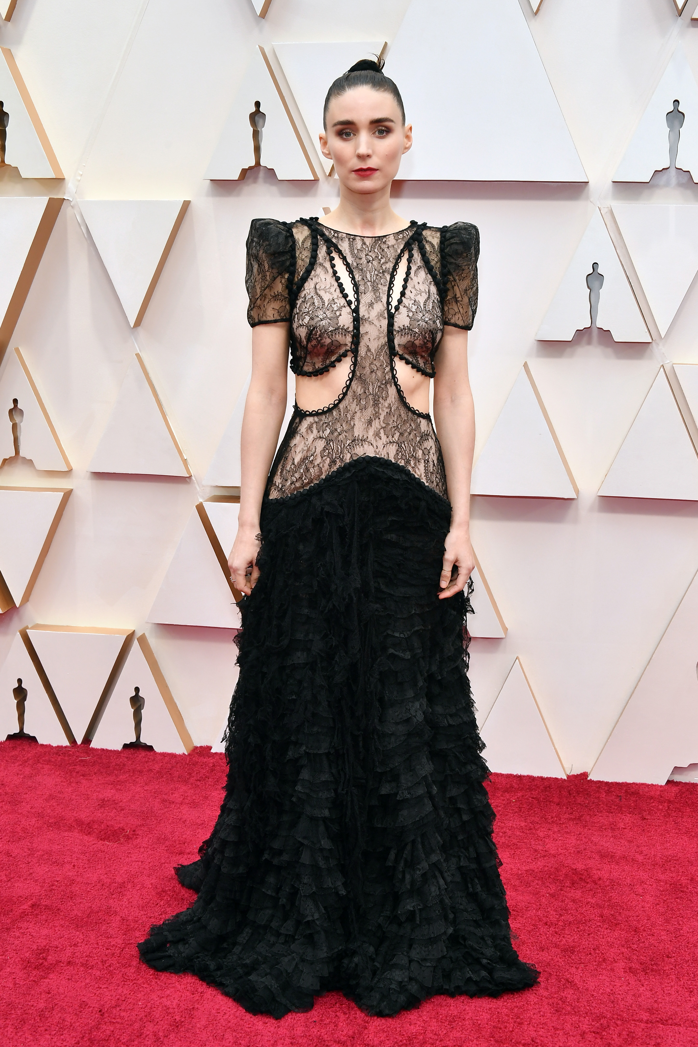 HOLLYWOOD, CALIFORNIA - FEBRUARY 09: Rooney Mara attends the 92nd Annual Academy Awards at Hollywood and Highland on February 09, 2020 in Hollywood, California. (Photo by Amy Sussman/Getty Images)