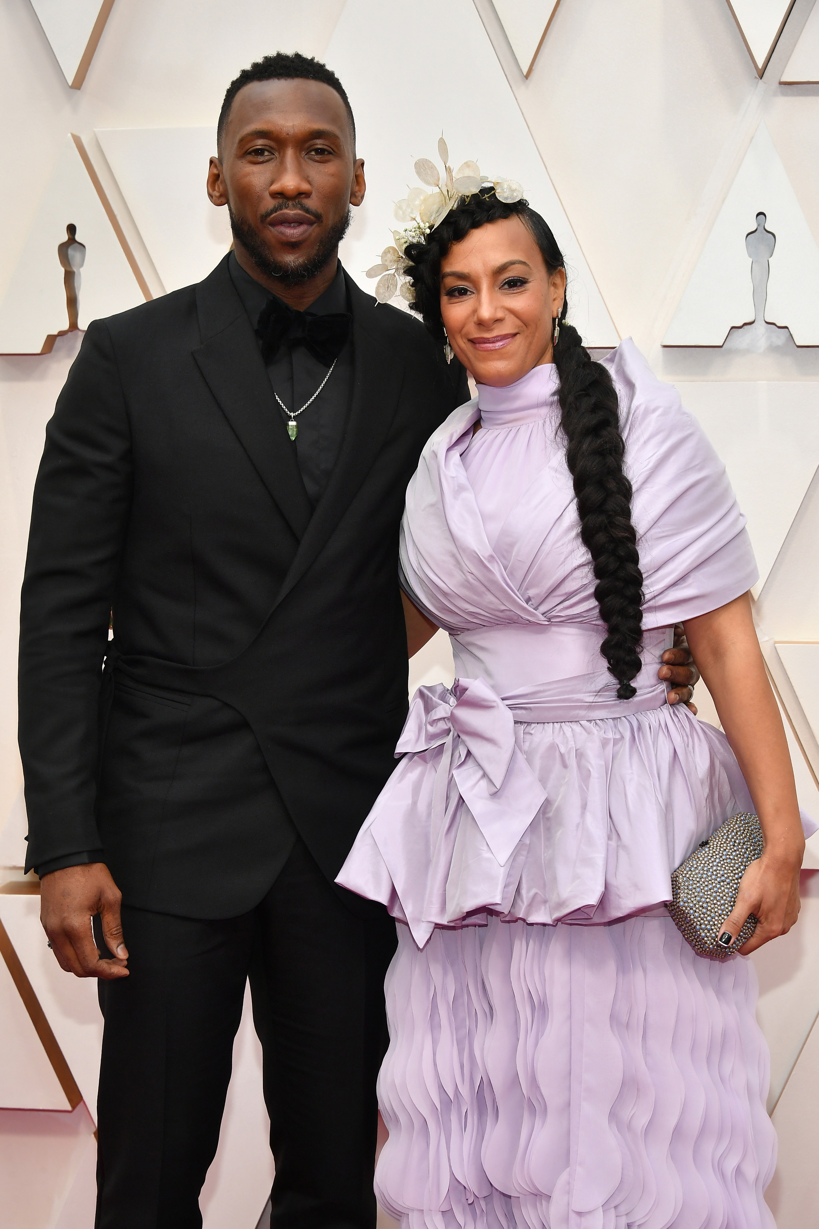 HOLLYWOOD, CALIFORNIA - FEBRUARY 09: (L-R) Mahershala Ali and Amatus Sami-Karim attend the 92nd Annual Academy Awards at Hollywood and Highland on February 09, 2020 in Hollywood, California. (Photo by Amy Sussman/Getty Images)