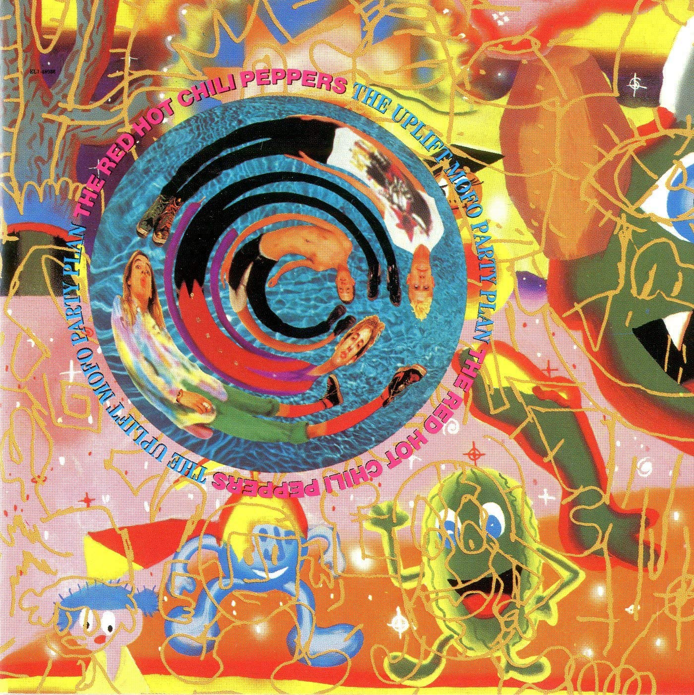 """Another ode to friends and community. The original lineup of the Red Hot Chili Peppers reunited for 'The Uplift Mofo Party Plan': guitarist Hillel Slovak rejoined the band on the prior album, and Jack Irons returned on this album. That clearly gave Anthony and Flea a new burst of energy and inspired the singer's lyrics, which sing the praises of his bandmates, as well as his friend Bob (they're """"Like two sweet peas in an even sweeter pod!"""")"""